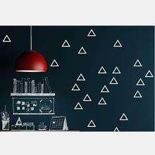 Triangles Mural Sticker For Kids Children Wall Room Decorating Decor Y-186