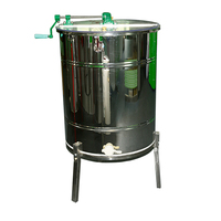Benefitbee Beekeeping Equipment 3 Frames Stainless Steel Automatic Flip Honey Extractor apiculture equipment