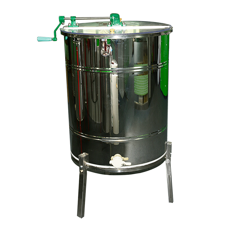 Benefitbee Beekeeping Equipment 3 Frames Stainless Steel Automatic Flip Honey Extractor apiculture equipment in Bee Hives from Home Garden
