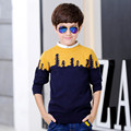 Patterns Baby Boy Sweater Designs Invierno Clothing Child Boy 2016 Autumn New Kids Boys Cotton Knitted Sweater Children 70J055