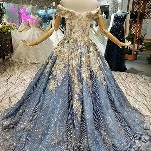 Image 5 - AIJINGYU ชุดแต่งงานใหม่ Vintage Gowns แต่งงานอิสลามยาวหางอินเดียเซ็กซี่เจ้าสาวงานแต่งงานราคาไม่แพงชุดร้านค้า