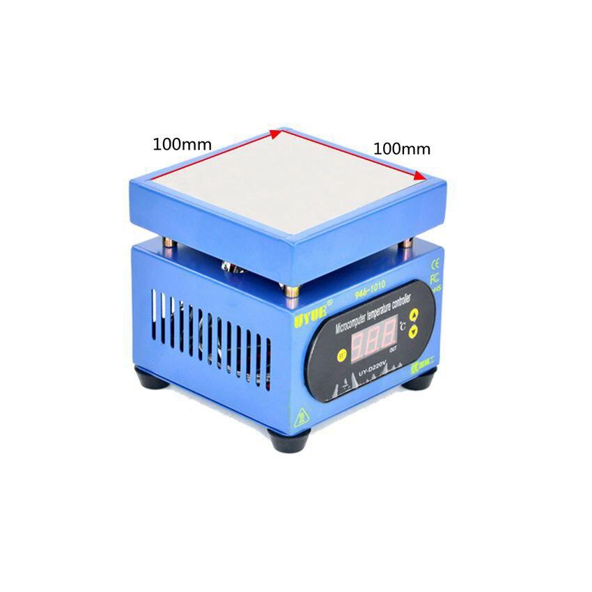 Uyue 946-1010 светодио дный Дисплей станция предварительного нагрева платформа для мобильного телефона Ремонт BGA паяльная