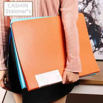 20/30/40/60 Pockets Booklet A3 Folder PVC Bag Transparent Document Bag For Documents A3 Paper File Organizer - DISCOUNT ITEM  18 OFF Education & Office Supplies