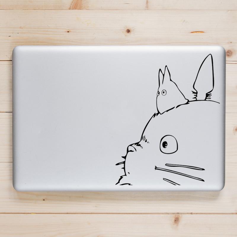 Totoro Cartoon Laptop Decal for Apple Macbook Sticker Pro Air Retina 11 12 13 14 15