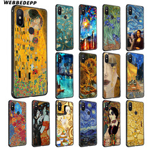 WEBBEDEPP Van Gogh Oil Painting Soft Silicone Case for