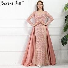 ФОТО  Dubai Arabic Robe De Soiree Evening Dresses    Long Sleeve Prom Dress Party Crystal Beaded Vestido De Festa