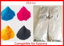 Color Toner Powder Compatible for Kyocera 2551ci Free Shipping 4KG KCMY