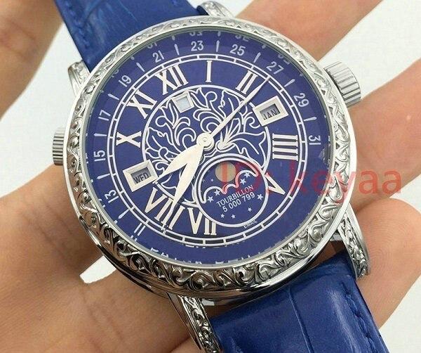 Designer Quartz nouveau Top marque de luxe Tourbillon en acier inoxydable automatique femmes montre sport hommes montres AAA montres