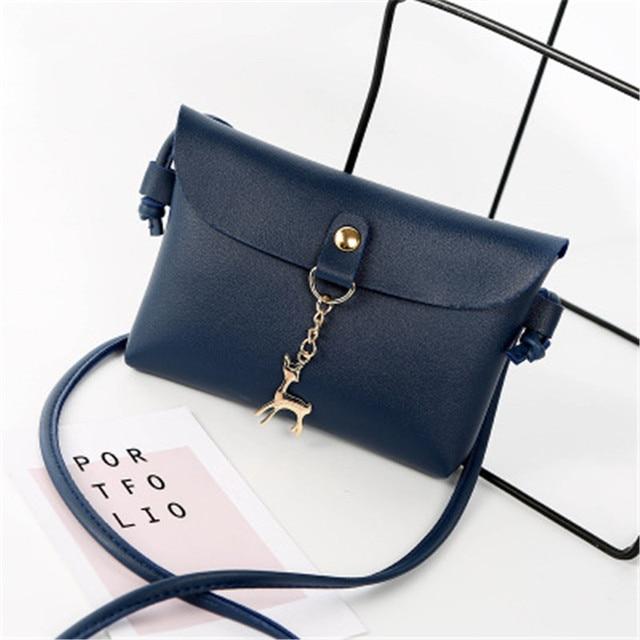 Puimentiua Bags For Women 2018 Sweet Deer Pendant Small Kawaii Bag Handbags For Girls Phone Pouch Sac A Main Cheap Women Bags
