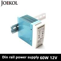 MDR 60 Din Rail Power Supply 60W 12V 5A Switching Power Supply AC 110v 220v Transformer