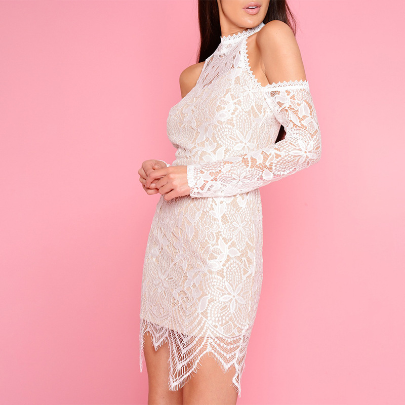e501627039 2018 coldly style dress lace dress Women sexy club skintight dress Simplify  and atmosphere -in Dresses from Women s Clothing on Aliexpress.com