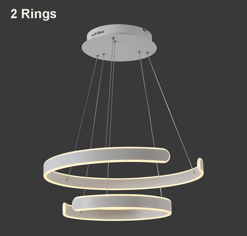 HTB1s UdgKOSBuNjy0Fdq6zDnVXa9 AC90-264VModern pendant lights for living room dining room Geometry Circle Rings acrylic aluminum body LED Lighting ceiling Lamp