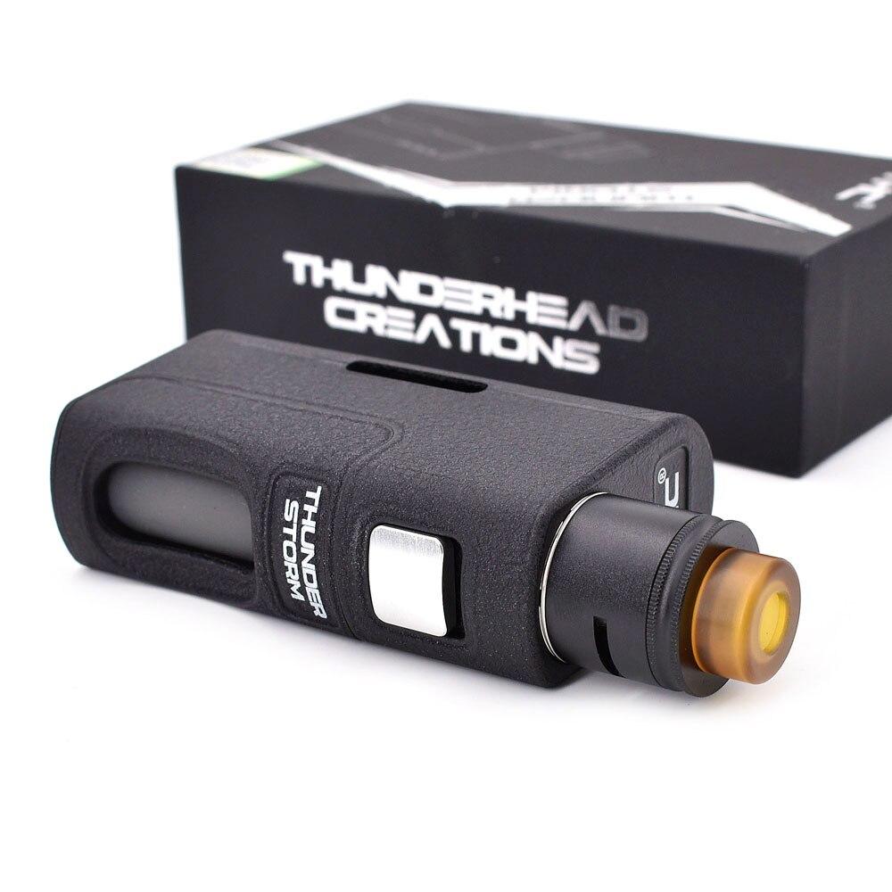 Cigarette électronique BF kit THC tempête de tonnerre BF Kit 8 ML BF mod avec double bobine RDA Support 21700/20700/18650 batterie