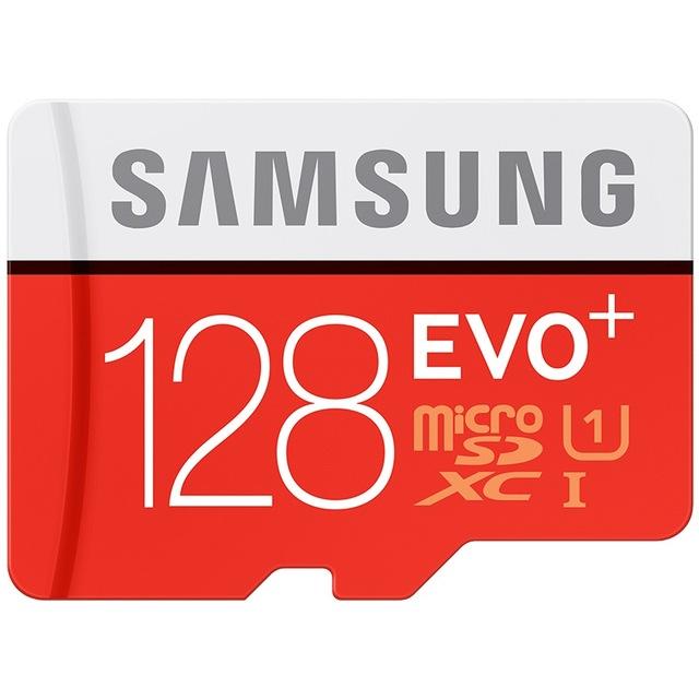 SAMSUNG EVO+  Micro SD 32G SDHC 80mb/s Grade Class10 Memory Card C10 UHS-I TF/SD Cards Trans Flash SDXC 64GB 128GB free shipping