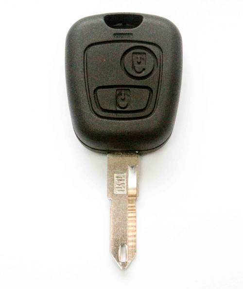 Fits for PEUGEOT 206 2 BUTTON REMOTE KEY FOB CASE BLADE NEW