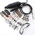 EU Tungfull MultiPro Drill + Carving Pen Soft Shaft Accessories,75pcs Polishing Top+30pcs Burs-level Kits Factory price