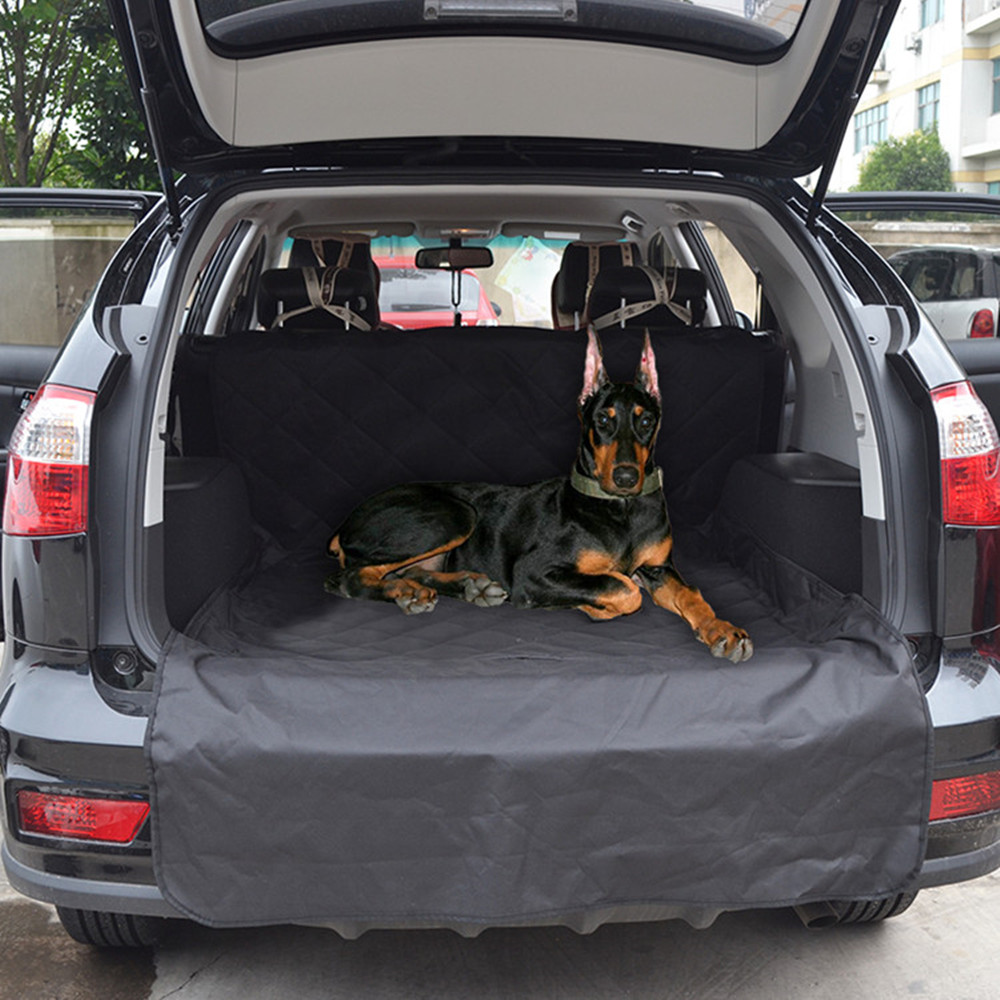 Pet Car Rear Seat Cover Tear Resistant Non Slip Trunk