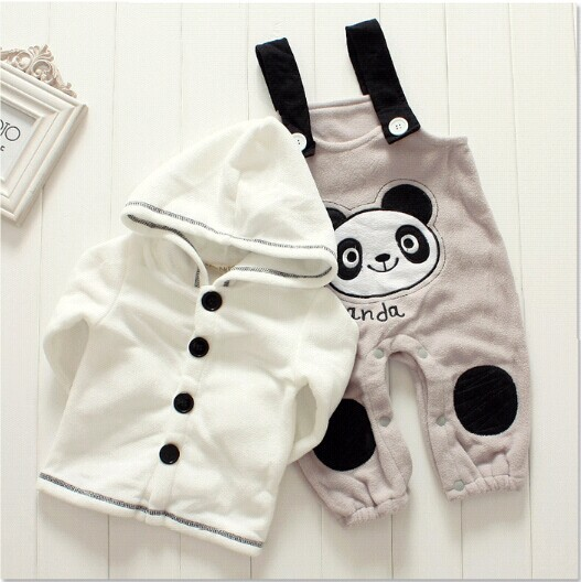 452b4bec40640 New designer hooded baby winter clothes cute animal style newborn baby girl boy  clothing sets