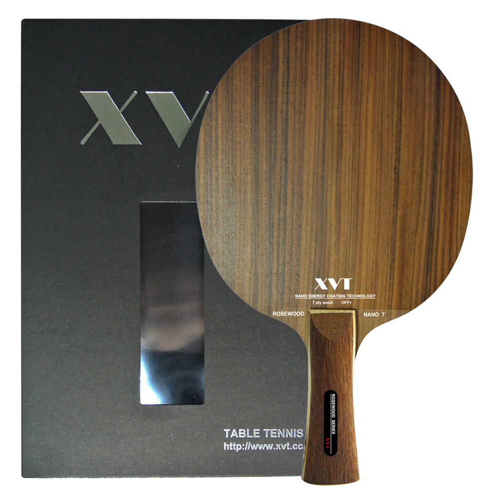 Xvt Professional Rosewood Nano 7 Table Tennis Blade Ping