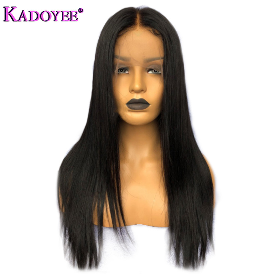 straight human hair lace front wigs for black women (5)
