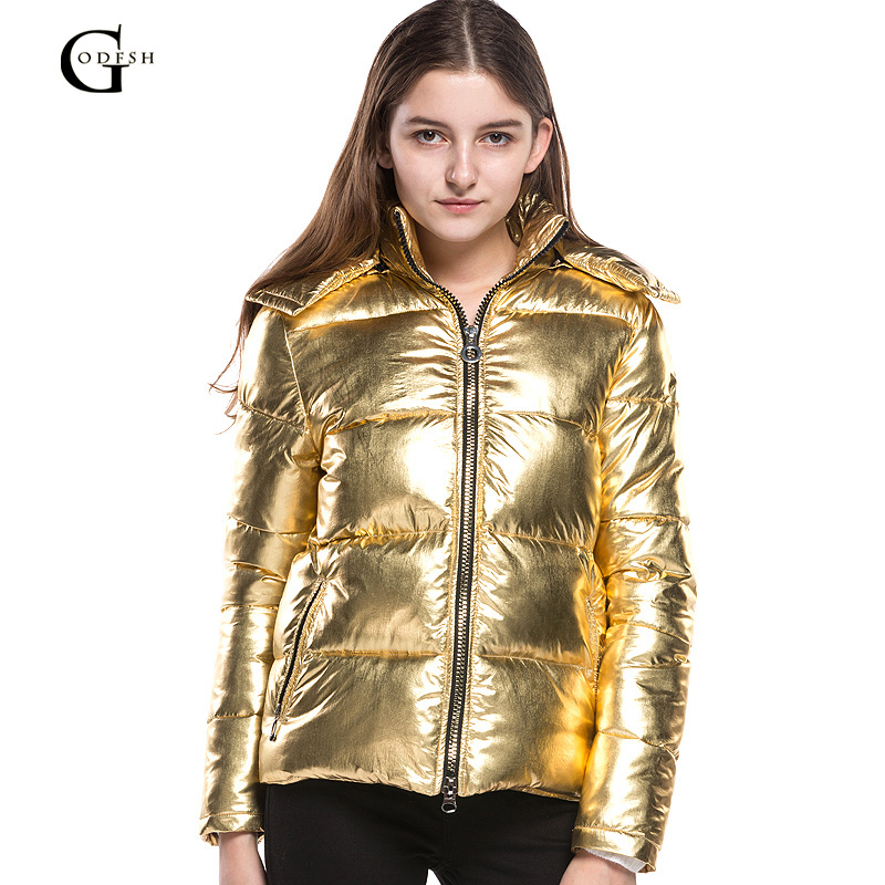 Coton Manteau Show Chaud Parkas Causalité Veste 2018 Femme New Hoodied Couleur Pour Rh206 Femmes Manteaux As Épais Golden Hiver 4dqBw4