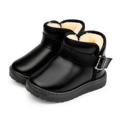 Mudipanda Children'sthick теплые короткие сапоги детские хлопковые зимние сапоги зимняя новая детская обувь для мальчиков комплект с шортами для