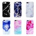 Moda soft tpu imd mármol piedra rock case para iphone 7 6 6 s más 5 5S sí cubierta colorida 7 plus plus 6 fundas Capa