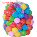 100pcs/lot Eco-Friendly Colorful Soft Plastic Water Pool Ocean Wave Ball Baby stress air ball outdoor fun sports Christmas Gifts