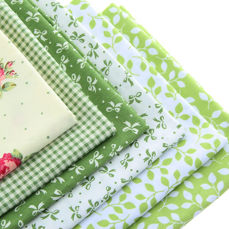 Cotton fabric printed fabrics patchwork for sewing quilt for Cotton sewing material