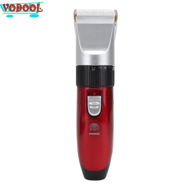 220-240V Professional Hair Trimmer Hair Clipper Men Electric Shaver Barber Cutter Hair Cutting Machine with EU charger plug