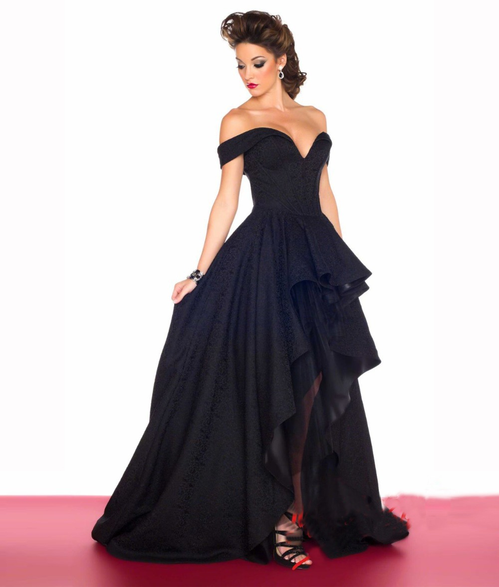 Online Buy Wholesale beautiful black gowns from China beautiful ...