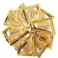 Золото Кристалл Коллаген Спать Маска Для Глаз Hotsale Глаз Патчи Тушь 50 пар Тонких Линий Лица Уход За Кожей
