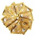 Cristalino del oro Del Colágeno máscara de Ojos Para Dormir Máscara de Ojo de Hotsale Parches Mascaras 50 pares de Líneas Finas Cuidado Facial Cuidado de La Piel