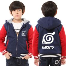 Winter Naruto Thick Jacket for Kids