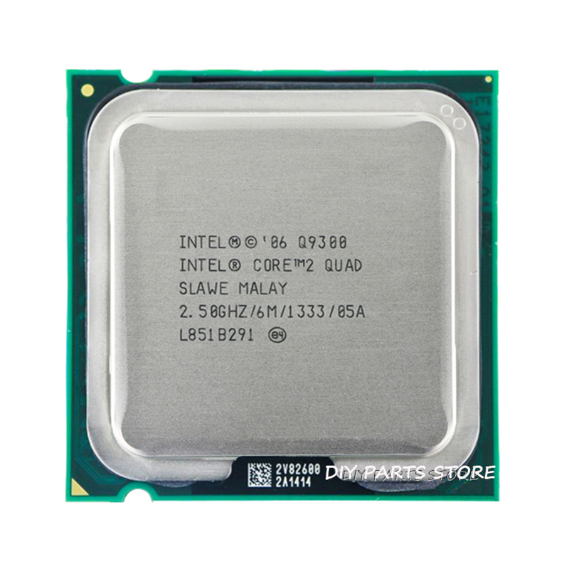 4 ядролы INTEL Core 2 Quad Q9300 CPU процессоры 2.5Ghz / 6M / 1333GHz) LGA 775 ұясы