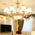Стеклянная лампа столовая спальня люстра для прихожей освещение лампы люстры лампа