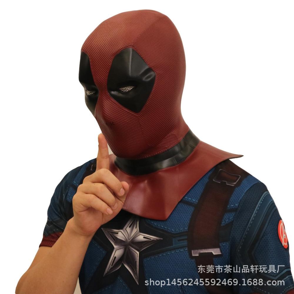 Cosplay deadpool masque halloween masque d'horreur masque