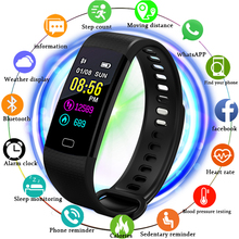 LIGE blood pressure heart rate monitor PPG ECG Smart bracelet Men fitness tracker Sport Pedometer Smart Watch intelligent band men women heart rate blood pressure ecg ppg dual monitoring sport smart bracelet