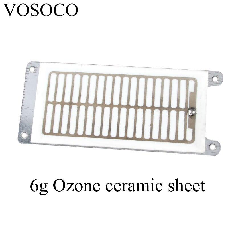 6g Ozone Generator component DIY Air water Purifier Sterilizer treatment Ozone ceramic parts Ozone machine parts