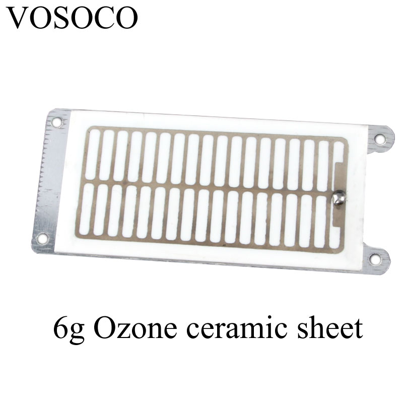 6g Ozone Generator component DIY Air water Purifier Sterilizer treatment Ozone ceramic parts Ozone machine parts 10PCS/LOT richmond denim футболка