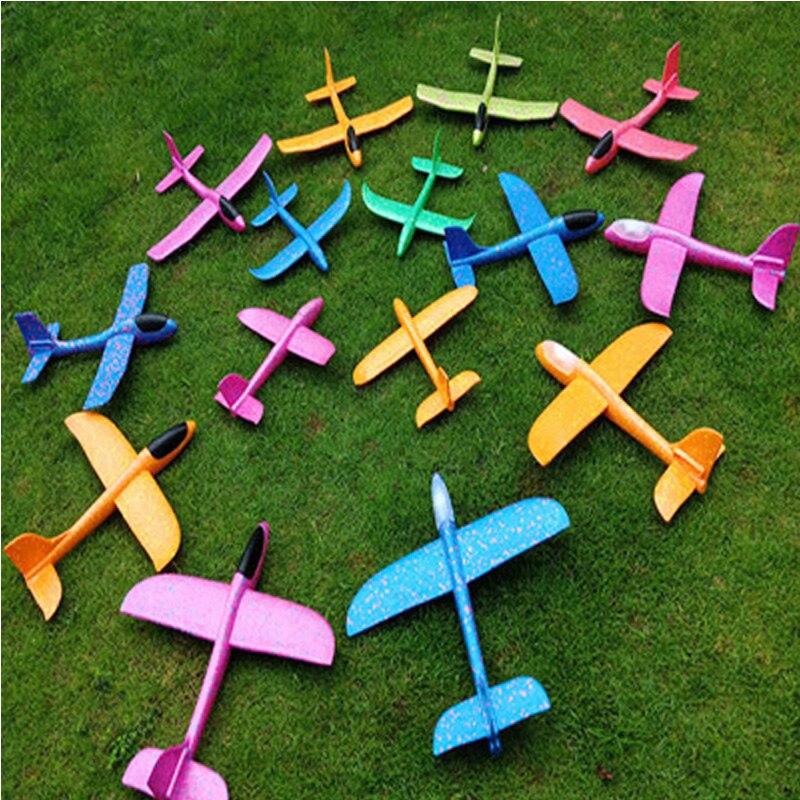 48 Cm Bricolage Main Jet Vol Planeur Avions Mousse Avion Modèle Parti Sac Remplisseurs Vol Planeur Avion En Plein Air Jouets Pour Enfants Jeu