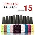 (Choose 15)Sapphire Nail Gel Polish Soak Off Nail Gel UV 30 Days Long Lasting 80 Gorgeous Colors The Best Gel Polish
