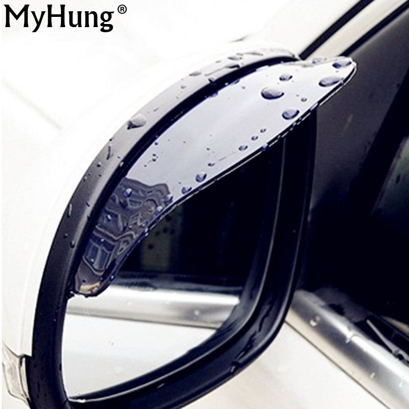 Car Rearview mirror waterproof Auto parts Automobile rain eyebrow for All free shipping!