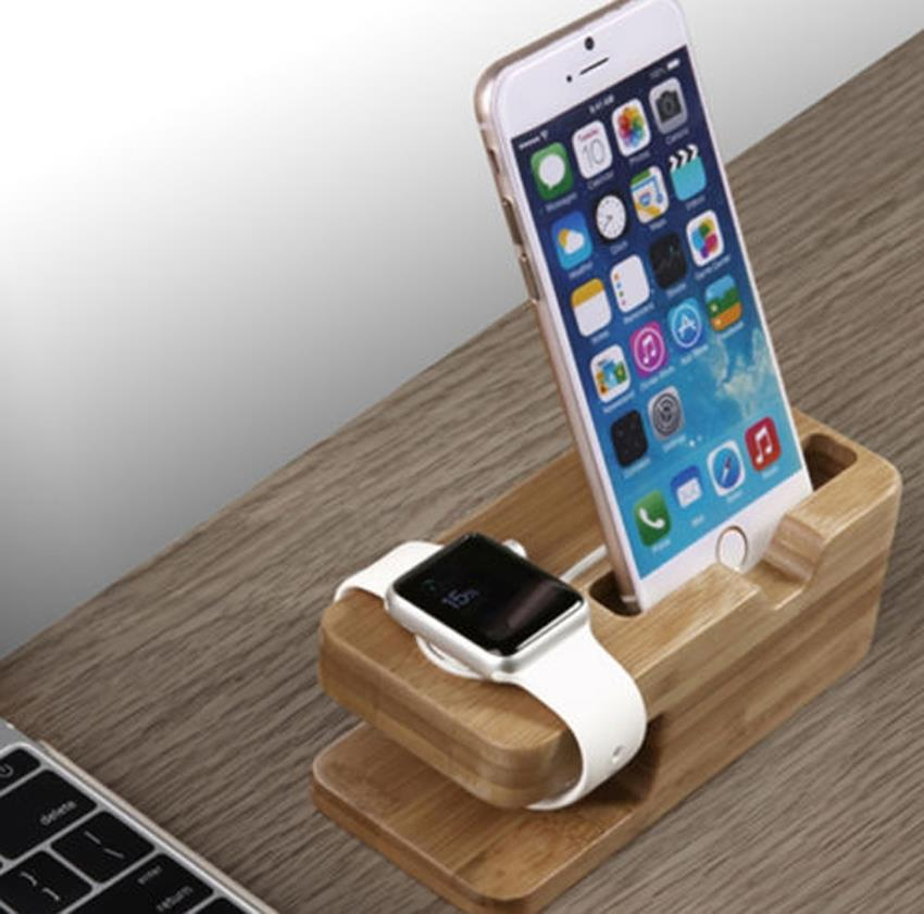 2017 New Bamboo Original Stand Charging Dock Station ...