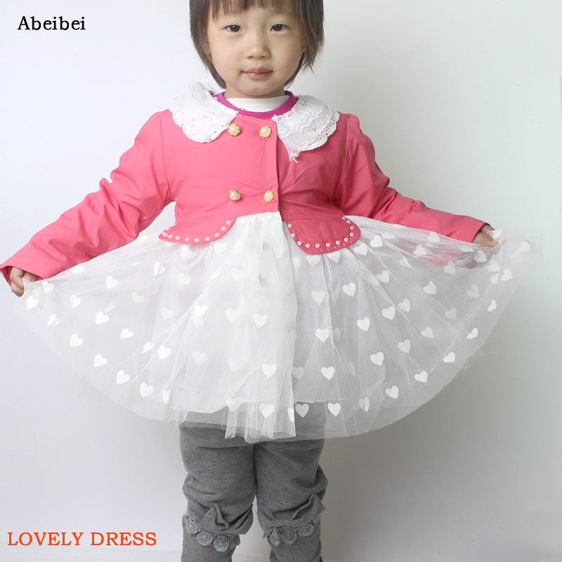 Free Shipping 2016 Summer Girls One-Piece Dress Lace dress Red color Children Peter pan collar dress Colthes For Kids Baby