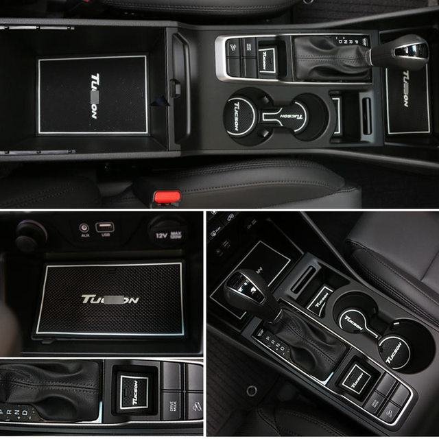 CAR RUBBER GATE SLOT PAD NON-SLIP DOOR GROOVE MATS FOR HYUNDAI TUCSON 2015 2016 : door technology tucson - pezcame.com