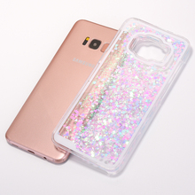 Glittering Heart Shaped Phone Cases
