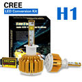 Taitian LED Headlight Bulbs Kit - H1- 60w 7,200Lm 6K Cool White - 2 Yr Warranty Fog DRL Replace Light Source Driving Bulbs