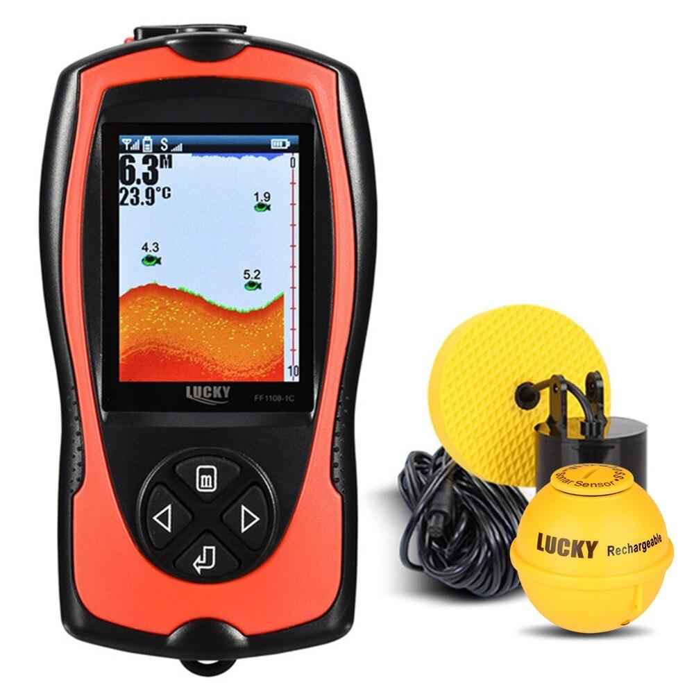 Détecteur de poisson Portable LUCKY FF1108-1CLA 100 M/300FT détecteur de poisson sans fil filaire détecteur de poisson Pesca détecteur de poisson