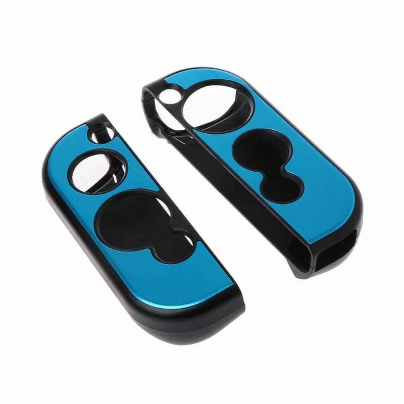 2 шт. Алюминиевый жесткий защитный чехол для джойстика противоскользящая кожа для nintendo Switch NS Console Joy-con